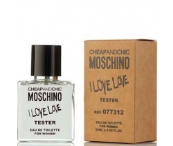 Тестер Moschino Cheap&Chic i Love Love, edp., 50 мл