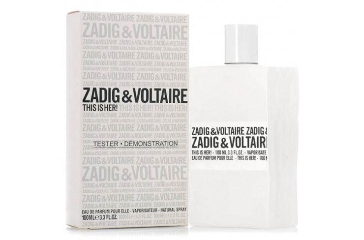 Тестер Zadig & Voltaire This is Her! 100 ml women фото 1