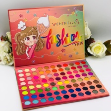 Палетка теней Yachan Beauty Fashion Models Eye Shadow Palette, 88 цвета