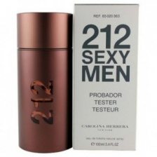 Тестер 212 Sexy Men Carolina Herrera edt 100 мл